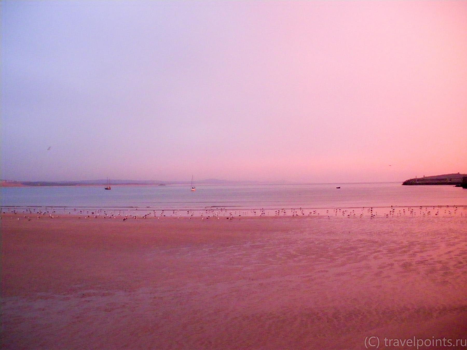 Закат в Эссуэйре