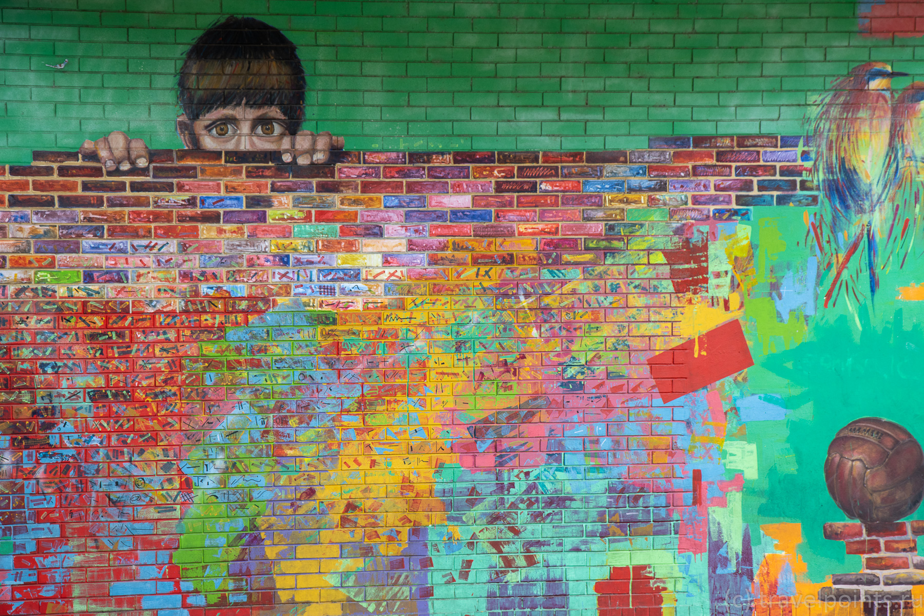 Граффити в Палермо