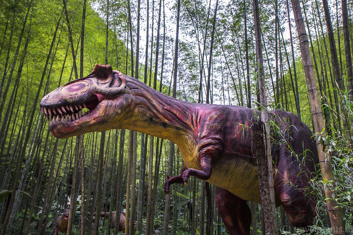 Говорящий динозавр