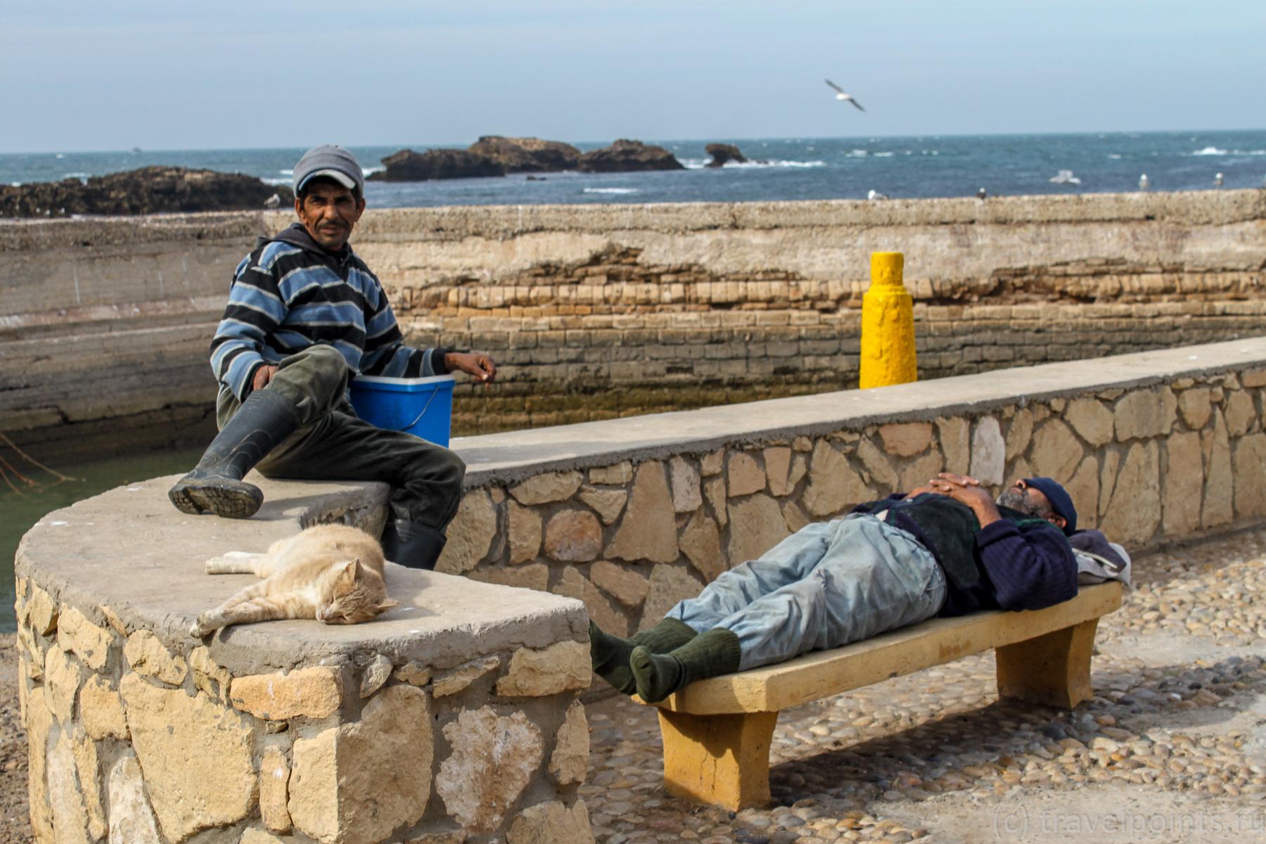 Отдых рыбаков