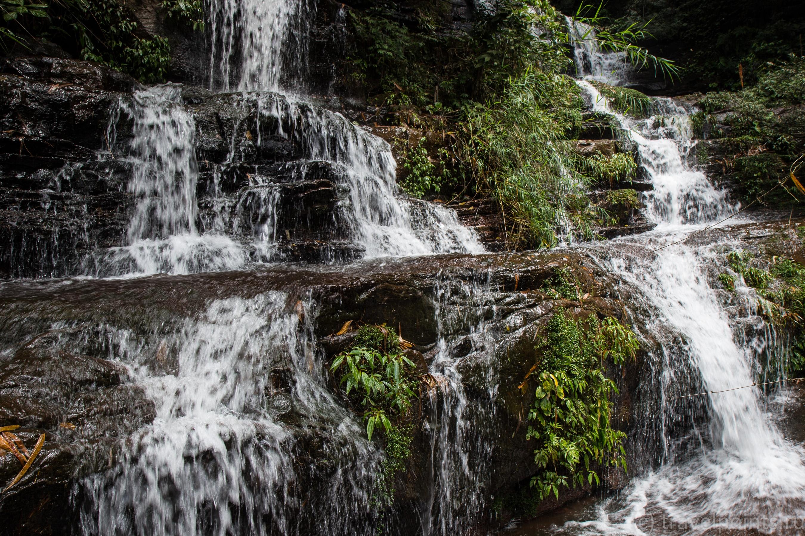 Еще кусок водопада