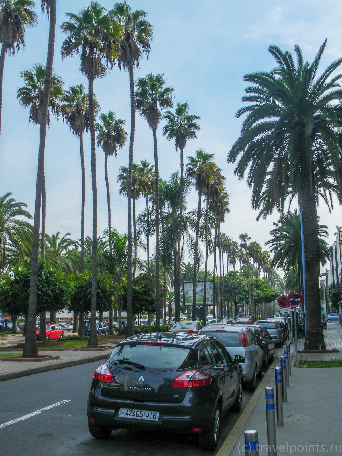 Улицы Касабланке, которые почище