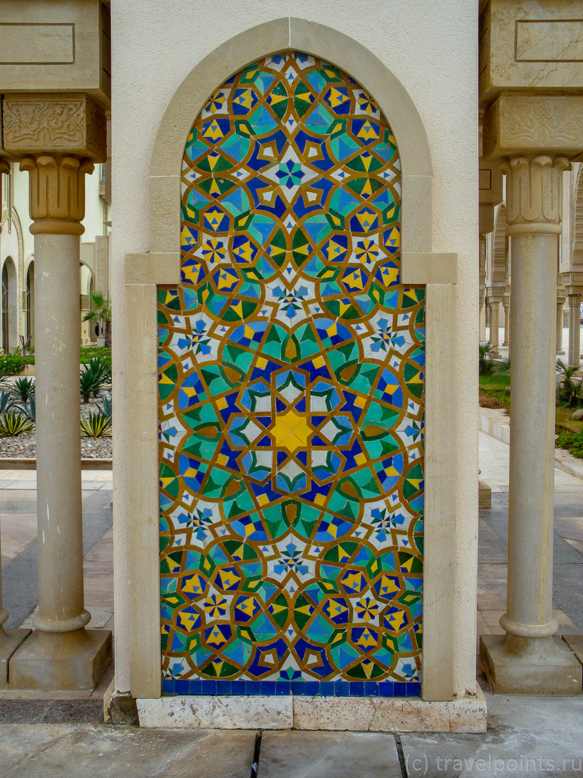 Мечеть Хасана, декор