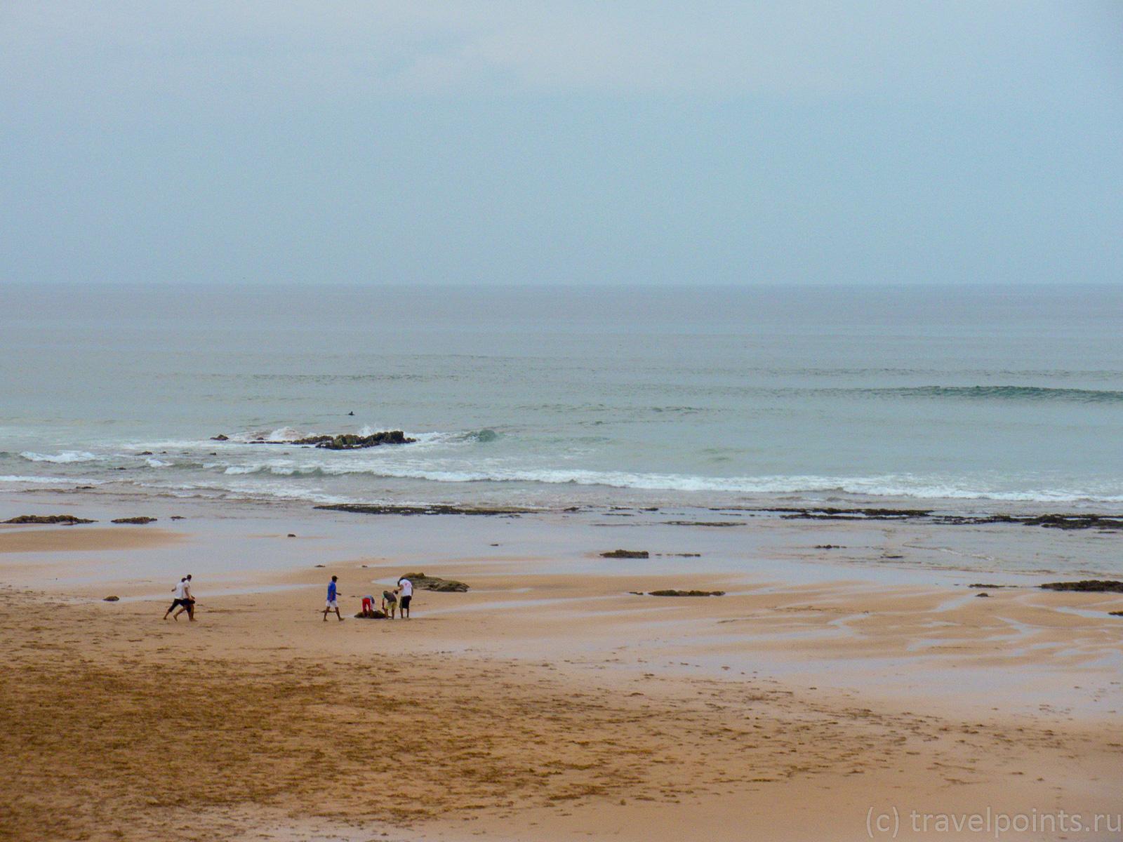 Океан в плохую погоду