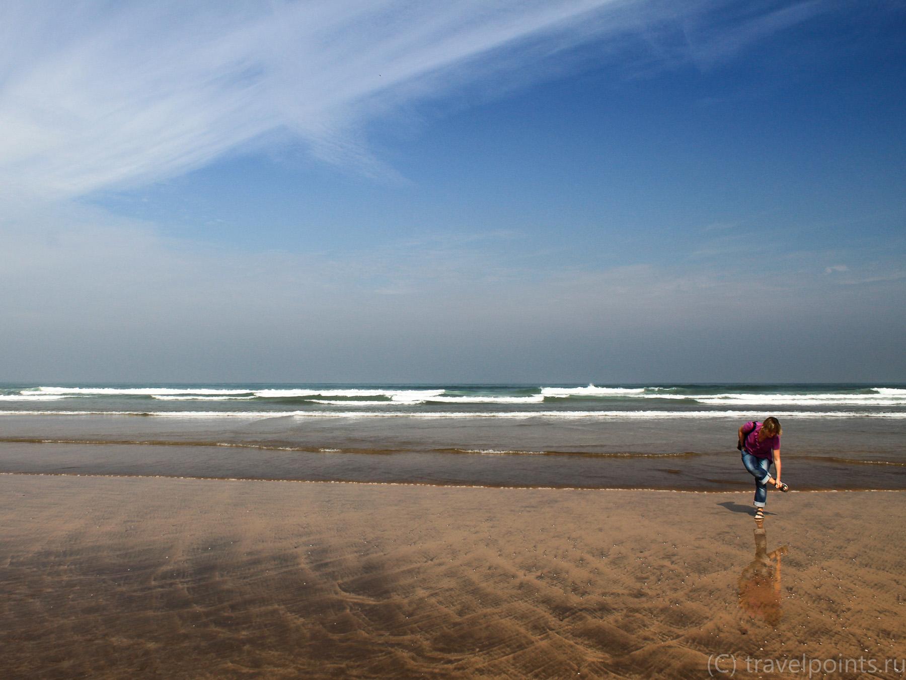 Большой океан и маленькая я