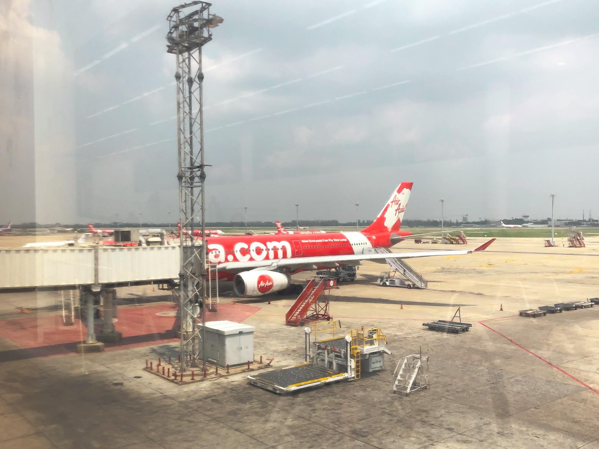 самолет Air asia