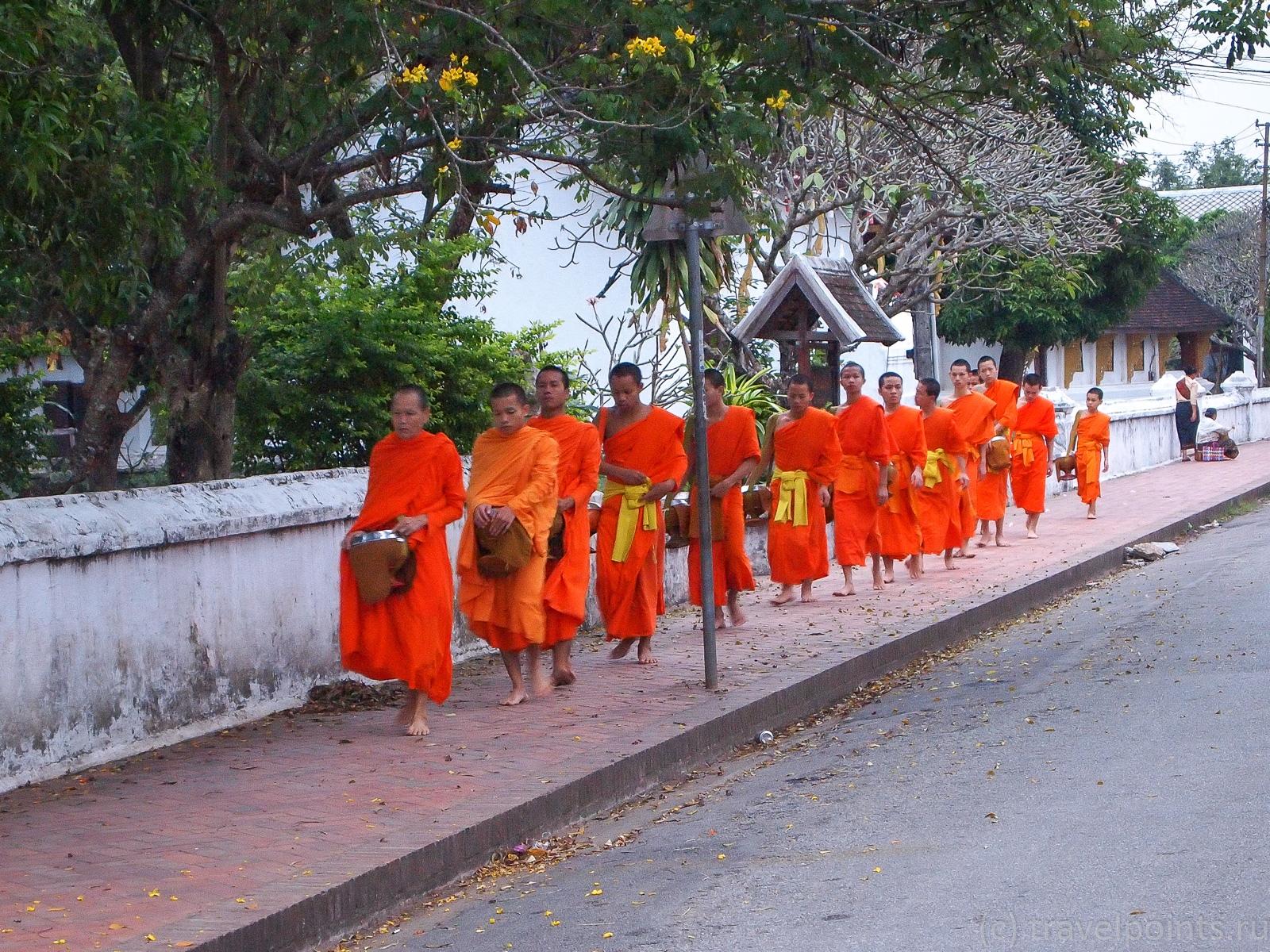 Монахи идут навстречу туристическому безумию
