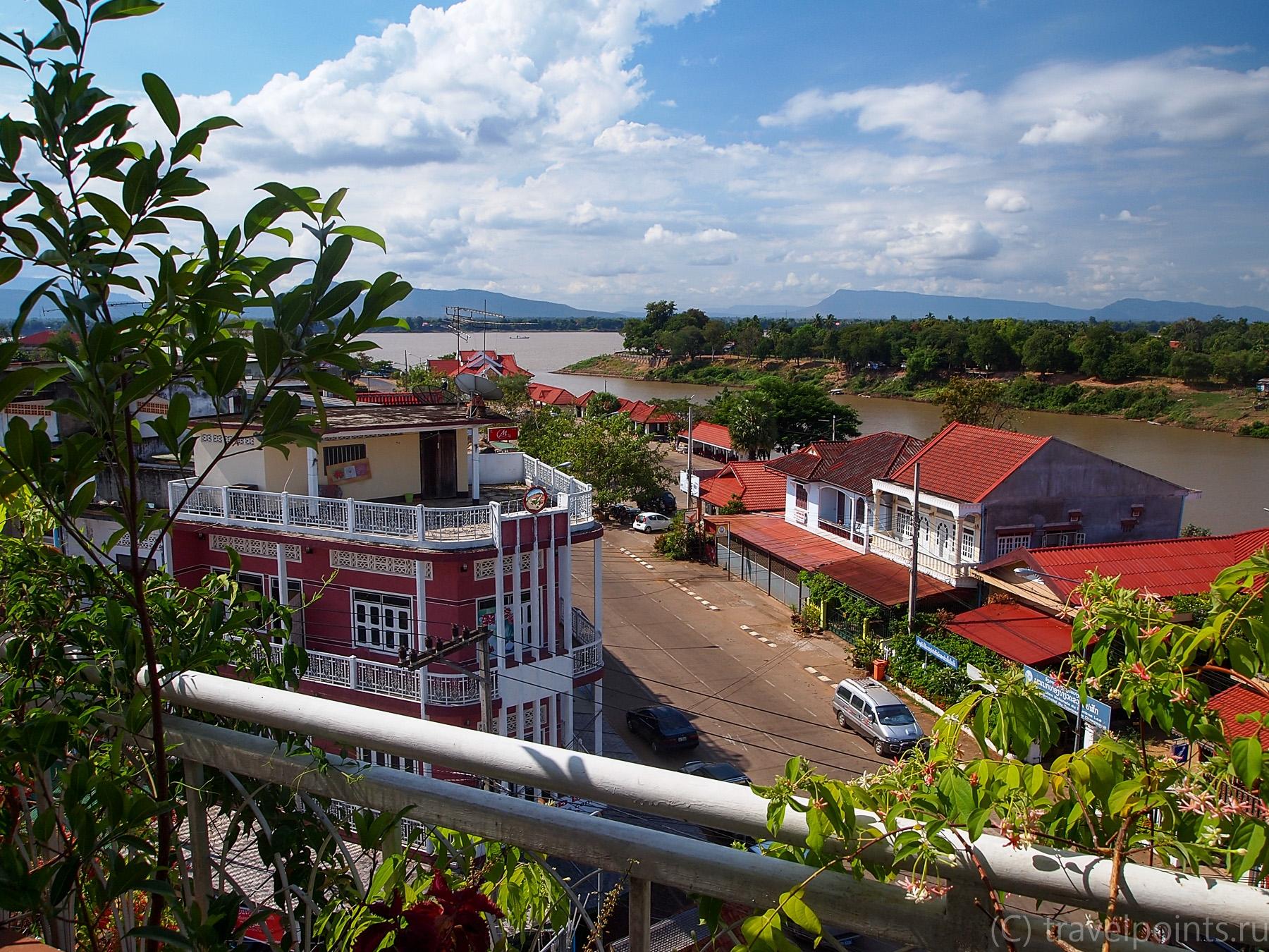 Вид из отельного ресторана