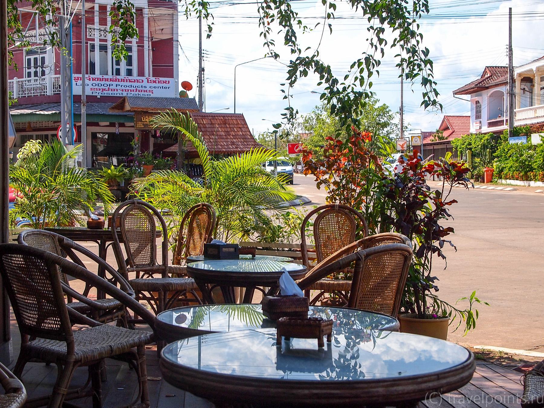 Кафе в отеле Residence Sisouk