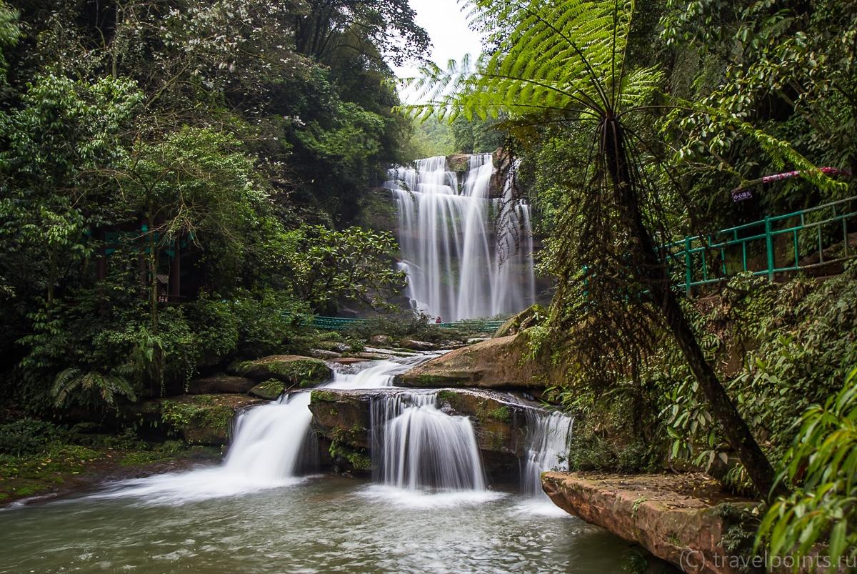 На подступах к главному водопаду
