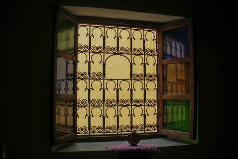 Окно в Марокко